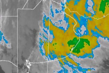 Última imagen satelital